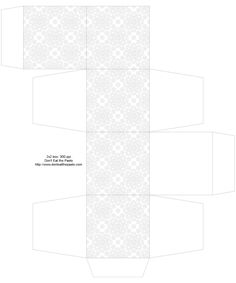 eyelet_box1.jpg (1333×1600). Click on link for free templates. http://www.donteatthepaste.com/2012/04/eyelet-lace-decorated-printable-boxes.html