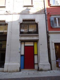 Door Mondrian Style www.bullesconcept.com