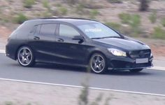 Mercedes CLA Shooting Brake. First photos #Mercedes visit carinformant.com