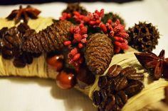 Model: Ugurlu Evim, door wreath, wreath, diy, handmade, doityourself, gift, giftideas