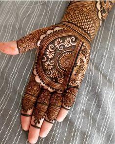 Most Beautiful Henna Designs 2019 Indian Mehndi Designs, Mehndi Designs Book, Modern Mehndi Designs, Mehndi Design Pictures, Wedding Mehndi Designs, Mehndi Designs For Fingers, Beautiful Henna Designs, Mehndi Patterns, Latest Mehndi Designs