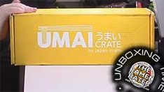 The Ramen Unboxes ther Umai Crate by Japan Crate - a monthly curated selection of instant ramen and a unique little item in every box