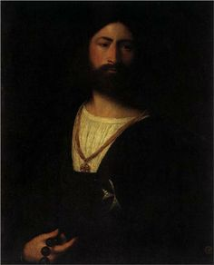 A Knight of Malta - Titian 1515