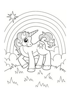 Little Unicorn by Annzabella Coloring book. Little unicorn from fairy tale about the princess Unicorn Coloring Pages, Cute Coloring Pages, Animal Coloring Pages, Adult Coloring Pages, Coloring Pages For Kids, Coloring Sheets, Coloring Books, Unicorn Printables, Little Unicorn