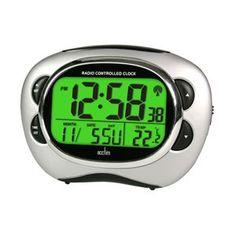Acctim Pulse Radio Controlled Smartlite Alarm Clockclose