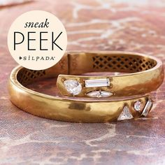 Catch a sneak peek of our new #jewelry coming January 15! #SilpadaStyle