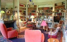 Catherine Deneuve - living room