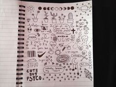 Image via We Heart It. Journal Doodles