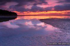 Beautiful Sunrise at Jervis Bay, Callala Beach, NSW, Australia