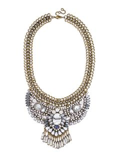 Marble Rodin Bib  Fashion Necklaces: Statement, Chains & More   BaubleBar http://www.baublebar.com/necklaces.html