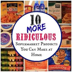 10 Supermarket Products You Can Make At Home   Health & Natural Living