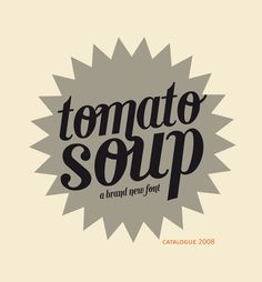 'Tomato Soup,' a lovely retro script #font by Maryis Iglesias on @Behance #typography