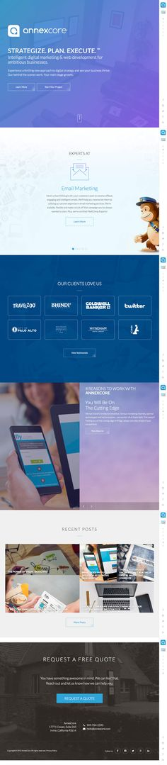 AnnexCore (More web design inspiration at topdesigninspiration.com) #design #web #webdesign #inspiration #sitedesign #responsive