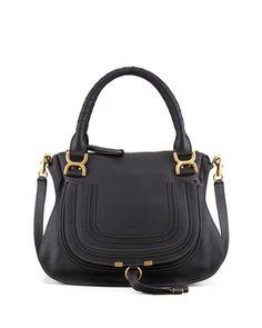 Marcie Medium Satchel Bag, Black by Chloe at Neiman Marcus. My fave Bag- still love it- 2 years plus!