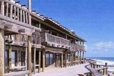 very old Driftwood Resort