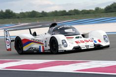 1992 Le Mans 24 - Peugeot 905. The 905 won the 24 Hours of Le Mans endurance race in 1992 with the team of Derek Warwick, Yannick Dalmas, and Mark Blundell. This win was followed in 1993 by the team of Geoff Brabham, Christophe Bouchut, and Éric Hélary, in the 905B. In addition to that, the car won both a drivers´ and teams´ title at the World Sportscar Championship in 1992.