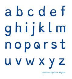 Dyslexie Font, una tipo per dislèxics