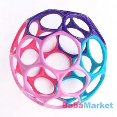 Oball Classic Ball is a flexible ball comes in bright, fun colors. It has finger holes which make it perfect for small hands to grasp. Learn to throw and catch. Learning Time, Baby Learning, Hygge, Baby Toys, Brighton, Latex, Barn, My Favorite Things, Simple