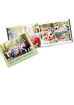 A beautifully crafted photo book is the perfect coffee table book. You and your guests will love flipping through the memories!