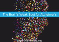 A new study has identified a weak spot in the brain that links Alzheimer's and schizophrenia. Learn more about this study .