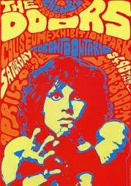 Resultado de imagen para the doors psychedelic poster