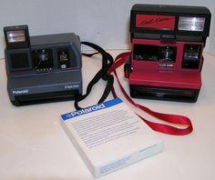 Polaroid 600 Cool Cam Polaroid Impulse Vintage Instant Film Camera Lot of 2 Film #Polaroid