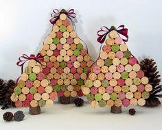 6 Ideas para esta Navidad con tapones de corcho | Aprender manualidades es facilisimo.com