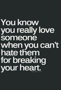 Hate.