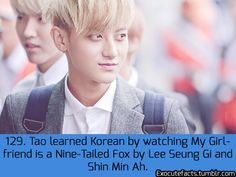 "EXO FACT ♡ #KPOP - 129 - This explains the ""oppa"" story on Sukira XD"