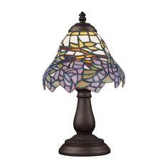 ELK Lighting 080-TB-28 Mix-N-Match 1 Light Table Lamp In Tiffany Bronze