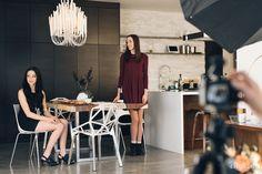 Find Your Space   Vol. 4   #cityhomecollective #design #interiordesign #ad #photoshoot #utahstyleanddesign #modern #chandelier #kitchen #dining #black #white #style