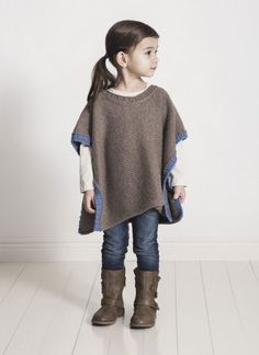 Spud and Chloe Puddle Jumper Poncho Knitting Pattern PDF is part of Knitting and Crochet For Kids - Online yarn store for knitters and crocheters Designer yarn brands, knitting patterns, notions, knitting needles, and kits Shop online or call 18668656487 Easy Knitting Projects, Poncho Knitting Patterns, Crochet Poncho, Knitting For Kids, Baby Knitting, Knitting Needles, Knitting Kits, Knitting Ideas, Toddler Poncho