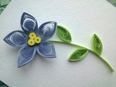 Quilling Flowers Tutorial: make a beautiful Quilling flower. Paper art Quilling. - YouTube