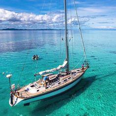 "1,484 Likes, 28 Comments - Sail Universe (@sailuniverse) on Instagram: ""Hallberg-Rassy 46 Mahina Tiare III. Photo @tor.johnson.photography"""