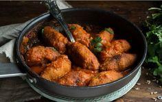 Τα πιο νόστιμα vegan σουτζουκάκια! - Γεύση & Συνταγές - Athens magazine Tandoori Chicken, Diet, Vegan, Ethnic Recipes, Food, Essen, Meals, Vegans, Banting