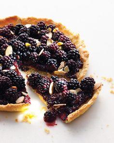 Old Bachelor's Jam and Blackberry Tart