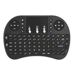 Best black 3 english 2.4GHz Wireless QWERTY Keyboard Black from Tomtop.com, various discounts are waiting for you.