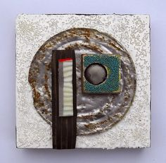 Lid VI: found object assemblage by tristanfrancis on Etsy