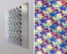 10 beautiful colored patterns of light created by simple geometric arrangements by Chris Wood