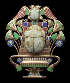 Egyptian Revival Brooch  1870  Tadema Gallery