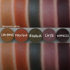 """952 Likes, 12 Comments - Angela Tanner (@angelamarytanner) on Instagram: """"NABLA COSMETICS EYESHADOWS: PART 3 OF 6  These are my mattes from @nablacosmetics! They have two…"""""""