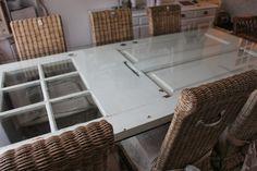 LivingHome: DIY - nyt bord af gammel dør
