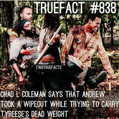 Lol! Then Noah is really dead. Michonne made it,though