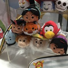 The Upcoming Tsum Tsum Merchandise On Display At SDCC - Vinylmation World