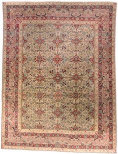 Persian Kirman carpet - Antique Persian Rug - Antique Rug - BB4575 by Doris Leslie Blau