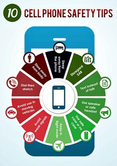 Are cell phones safe? Why not err on the side of caution and implement these safety tips!