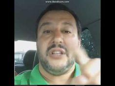 Matteo Salvini in diretta