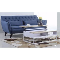 Madison Modern and Simply Designed Lift Top Coffee Table
