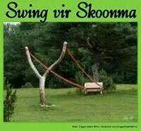 Swing vir skoonma