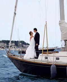 The Perfect Palette: {Nautical Nuptials}: A Palette of Navy Blue, Slate Blue + White